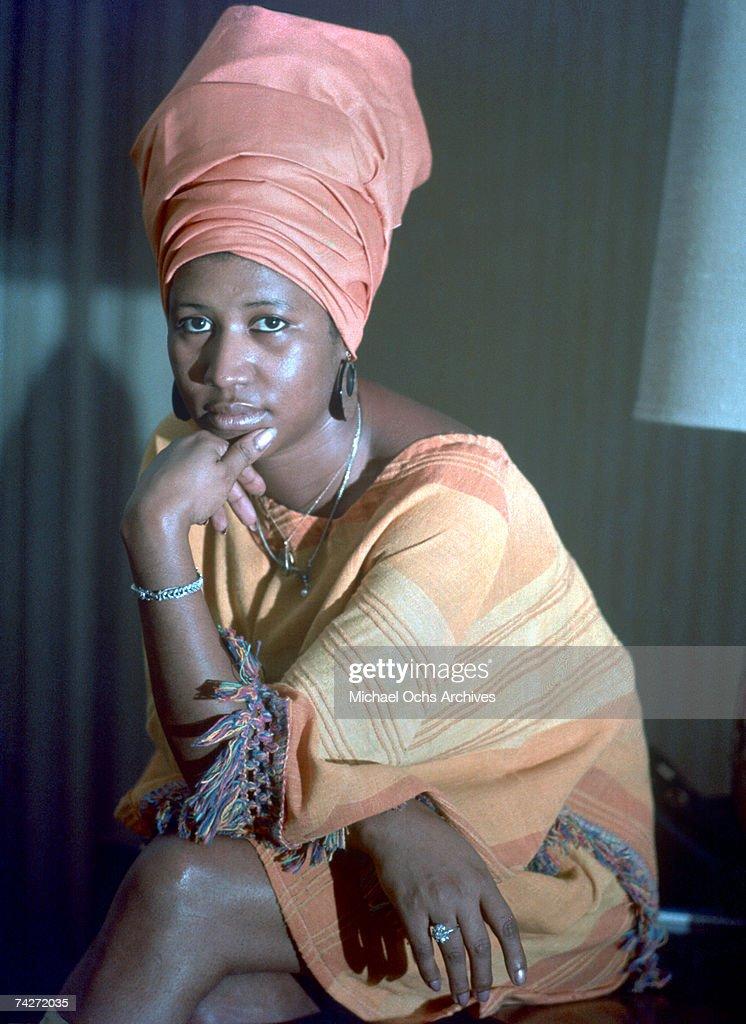 Queen Of Soul Portrait : News Photo