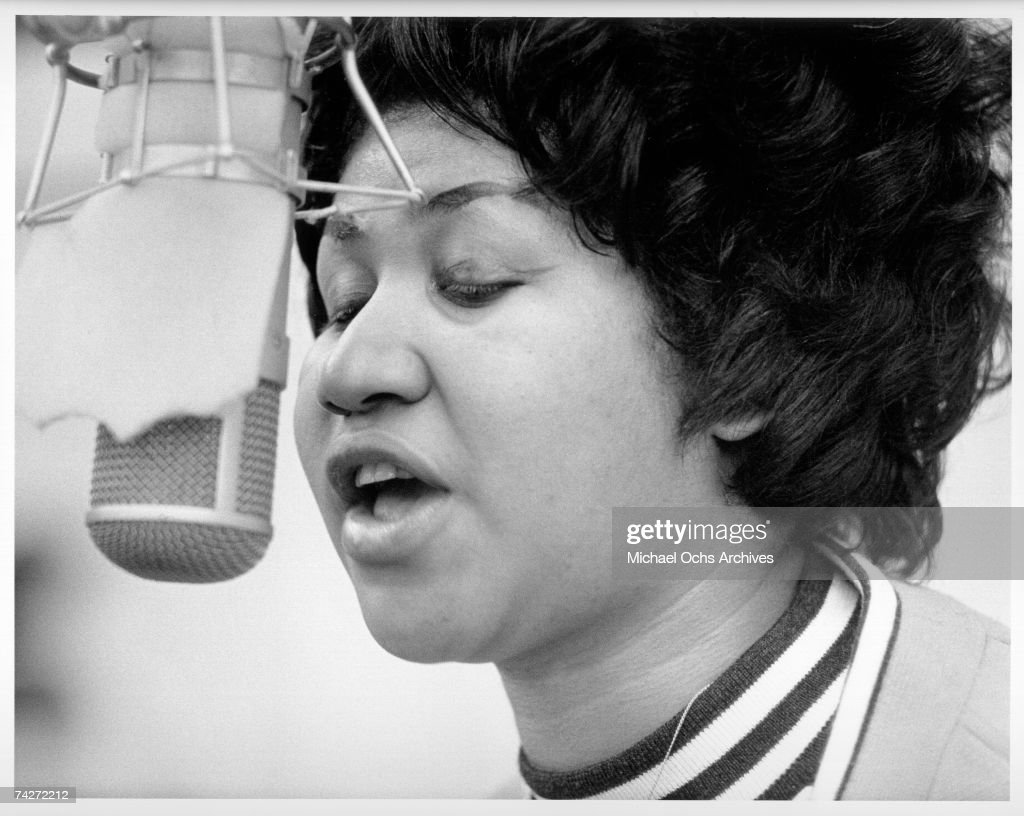 Aretha Recording In NY : News Photo