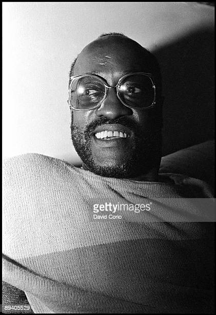 Soul singer Billy Paul poses for a portrait at his home in New Jersey on June 16 1985
