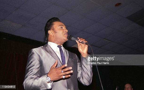 Soul singer Bobby Brooks Hamilton performs live at the Rhythm Riot on November 21 2010 in Camber East Sussex