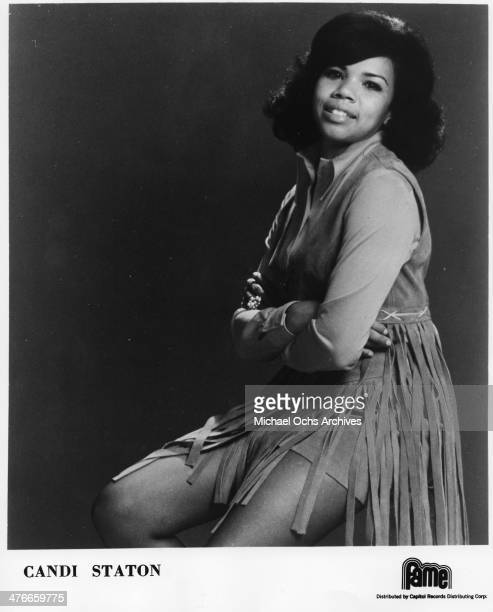 Soul singer Candi Staton poses for a portrait in circa 1976