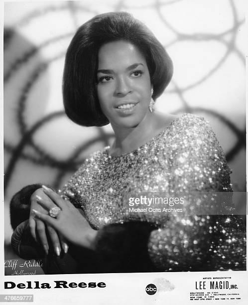Soul singer Della Reese poses for a portrait in circa 1963