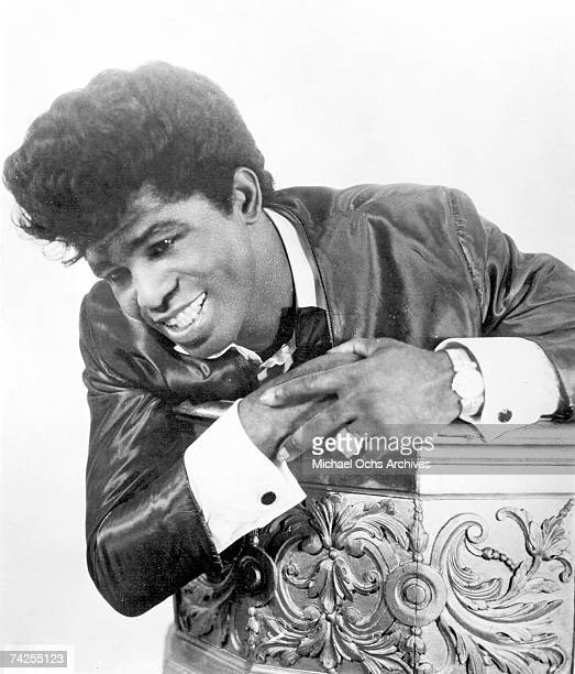 Soul singer James Brown poses for a portrait in circa 1958