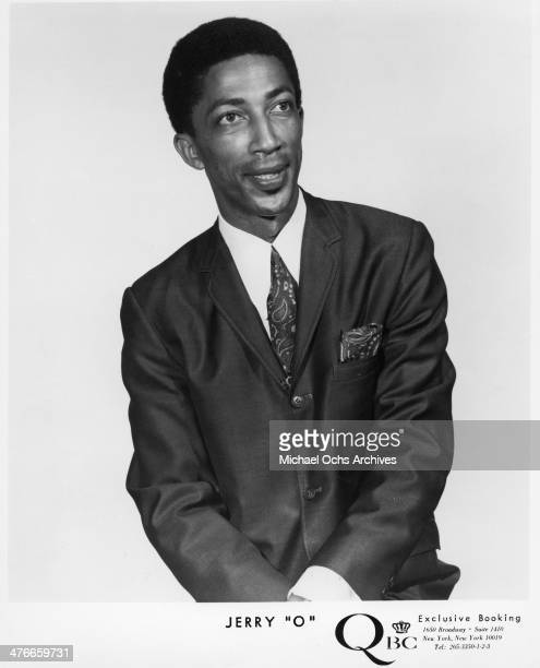 Soul singer Jerrry O who had a hit with Papa Chew Do The BooGaLoo by Tom and Jerry O poses for a portrait in circa 1960