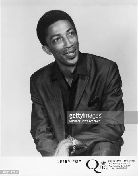Soul singer Jerrry 'O' who had a hit with Papa Chew Do The BooGaLoo by Tom and Jerry 'O' poses for a portrait in circa 1966