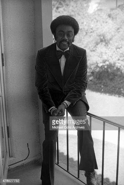 Soul singer Johnnie Taylor poses for a portrait on September 29 1973 in Los Angeles CA