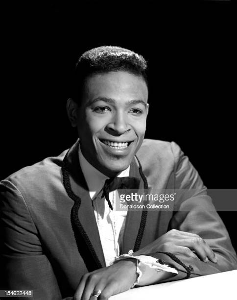 Soul singer Marvin Gaye poses for a portrait on June 5 1963 in New York City New York