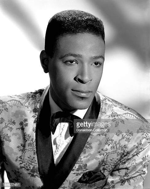 Soul singer Marvin Gaye poses for a portrait on June 5 1963 in New York City New York