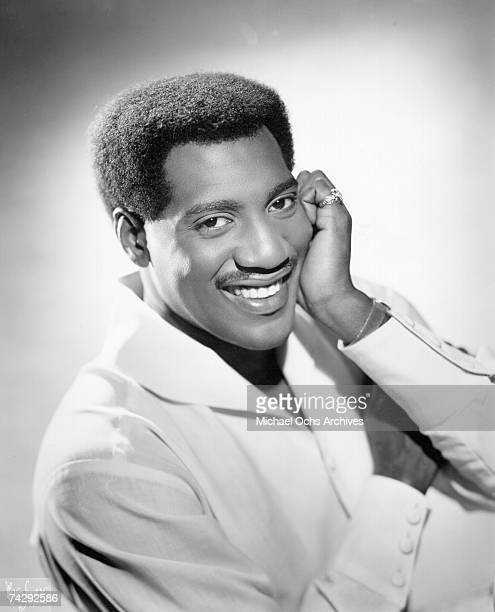Soul singer Otis Redding poses for a portrait in 1967 in Chicago Illinois
