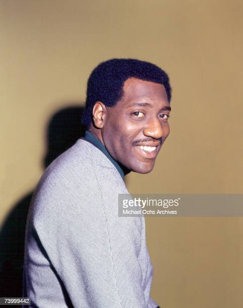 Soul singer Otis Redding poses for a portrait in May 1966 in London England