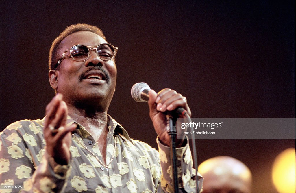 Soul singer Wilson Pickett performs on July 10th 1999 at the North Sea Jazz Festival in the Hague, Netherlands.