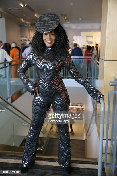 Soul Train dancer Shelia Lewis at Soul Train Saturday Celebrating The Original Soul Train Dancers for the Closing of the Bruce W Talamon Exhibit at...