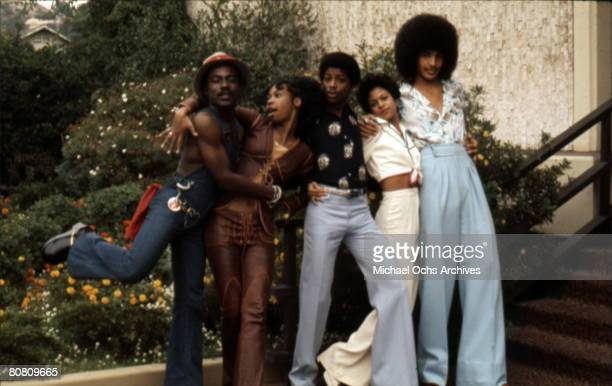 Soul Train dancers circa 1973 in Los Angeles California
