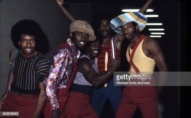 Soul Train dancers in July 1973 in Los Angeles California
