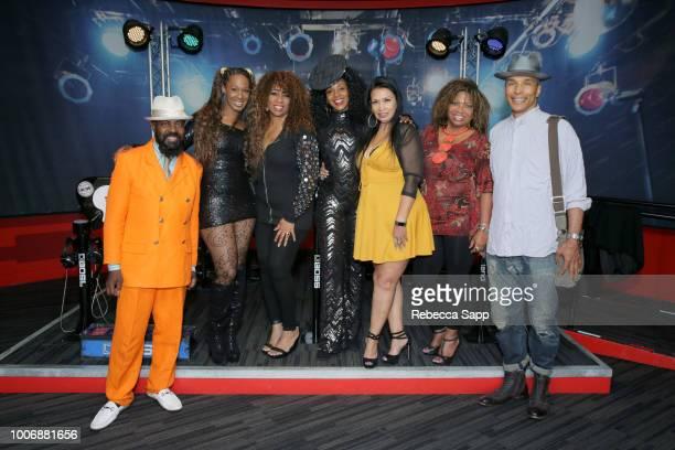 Soul Train dancers Marco De Santiago Monique Mo'Que Chambers Juliette Hagerman Shelia Lewis Marie GuevaraBonty Wanda Wanaka Knight and Tyrone Swan at...