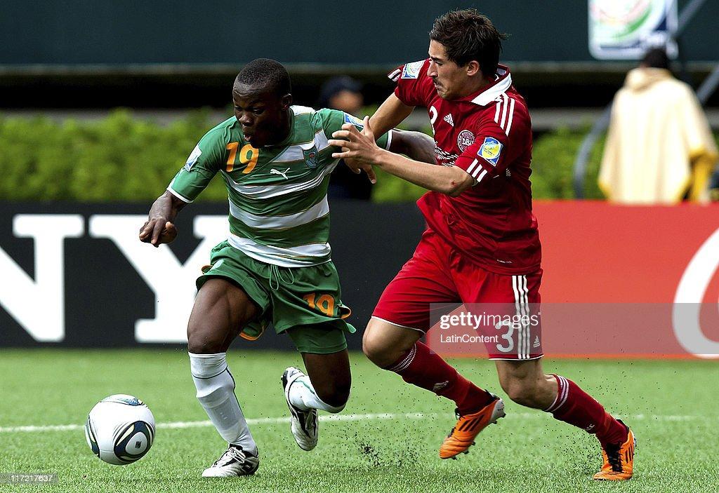 Ivory Coast  v Denmark - FIFA U-17 World Cup : Fotografía de noticias