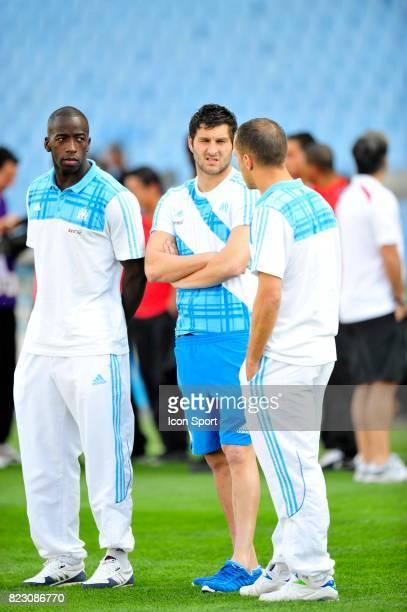 Souleymane DIAWARA / Andre Pierre GIGNAC / Benoit CHEYROU Marseille / Nice Match en retard de la 32e journee Ligue 1