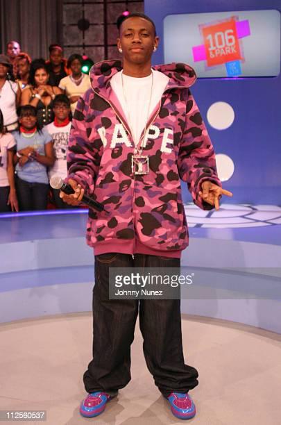 Soulja Boy attends BET's 106 Park on October 1st 2007 in New York City NY