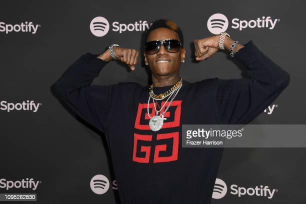 Soulja Boy attends Spotify Best New Artist 2019 event at Hammer Museum on February 7 2019 in Los Angeles California
