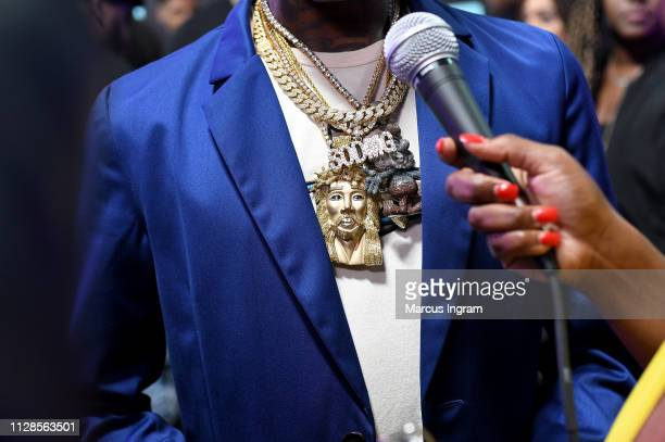 Soulja Boy attends the 2019 BET Social Awards at Tyler Perry Studio on March 3 2019 in Atlanta Georgia