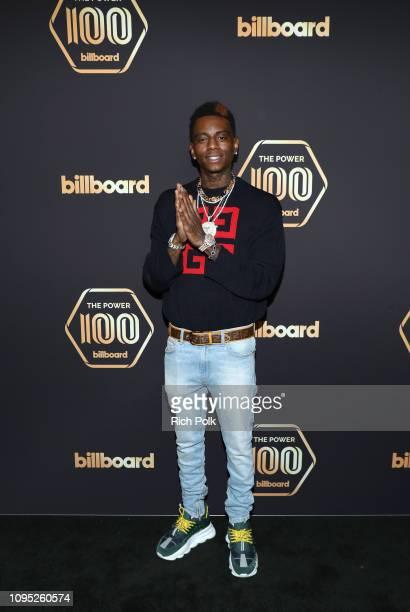 Soulja Boy attends the 2019 Billboard Power 100 on February 7 2019 in Los Angeles California