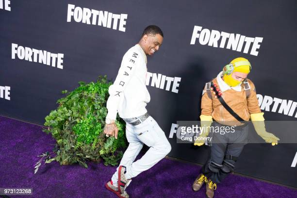 Soulja Boy attends the Epic Games Hosts Fortnite Party Royale on June 12 2018 in Los Angeles California
