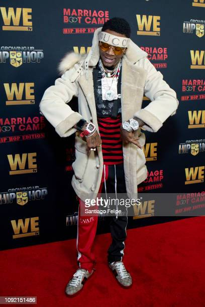 Soulja Boy attends the exclusive premiere for 'WE TV hosts Hip Hop Thursday's at Nightingale on January 09, 2019 in West Hollywood, California.