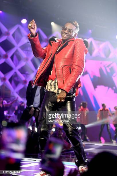Soulja Boy performs onstage during the 2019 BET Social Awards at Tyler Perry Studio on March 3 2019 in Atlanta Georgia