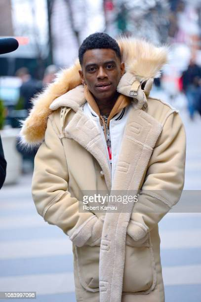Soulja Boy seen out and about in Manhattan on January 16 2019 in New York City