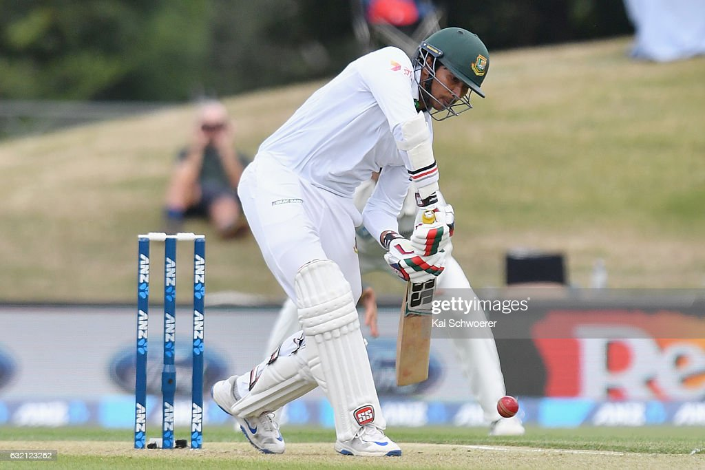 New Zealand v Bangladesh - 2nd Test: Day 1 : News Photo