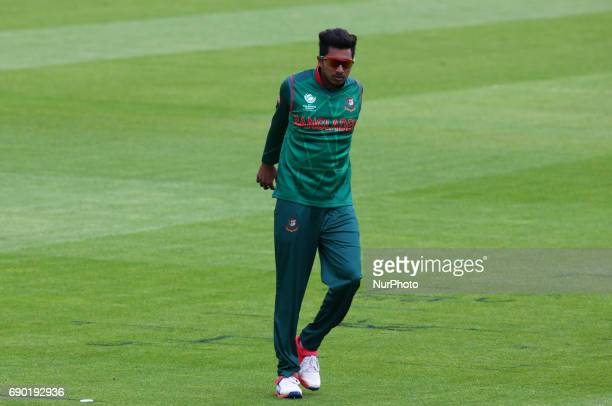 Soumya Sarkar of Bangladesh during the ICC Champions Trophy Warmup match between India and Bangladesh at The Oval in London on May 30 2017