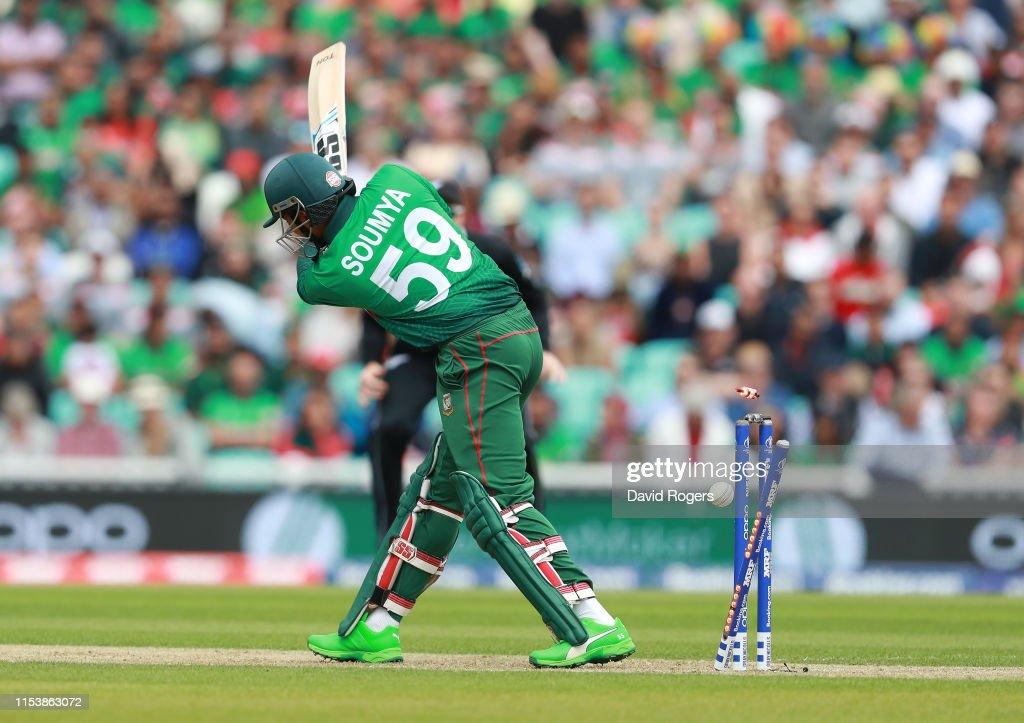Bangladesh v New Zealand - ICC Cricket World Cup 2019 : News Photo