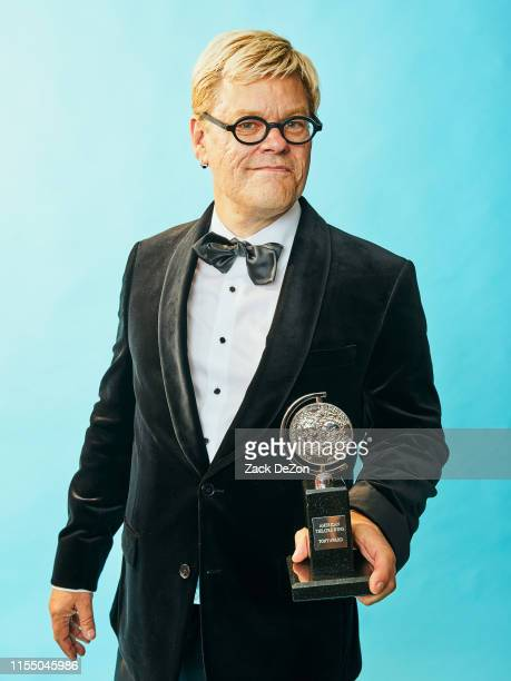 Sound designer Fitz Patton of Choir Boy poses for a portrait during the 73rd Annual Tony Awards on June 09 2019 in New York City