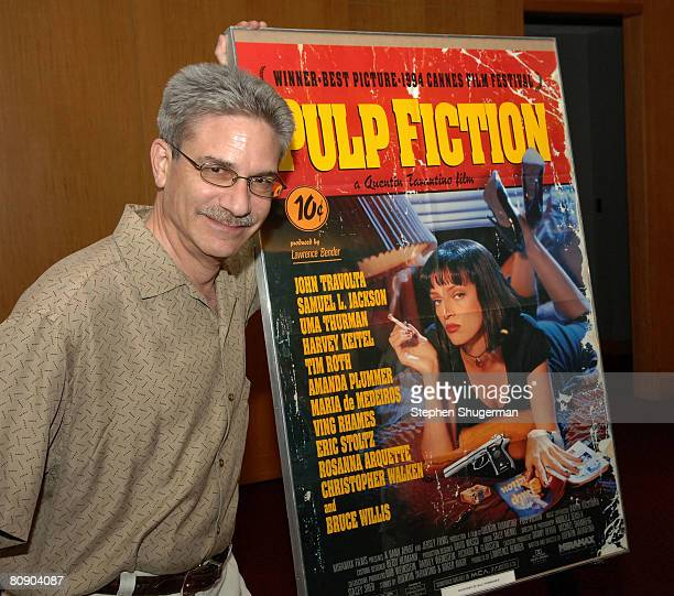 Sound Editor Avram Dean Gold attends AMPAS screening of 'Pulp Fiction' as part of the 'Great To Be Nominated' series at the Academy of Motion Picture...