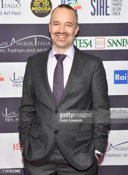 Sound Editor John Warhurst attends the 14th Annual Los Angeles Italia Film Fashion and Art Fest Closing Night Gala at TCL Chinese 6 Theatres on...