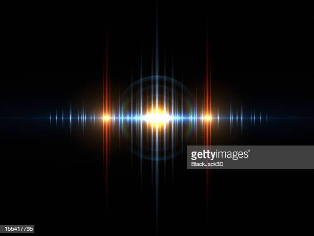 sound light wave - sound recording equipment stock pictures, royalty-free photos & images