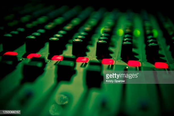 sound mixer - kristy sparow stock pictures, royalty-free photos & images