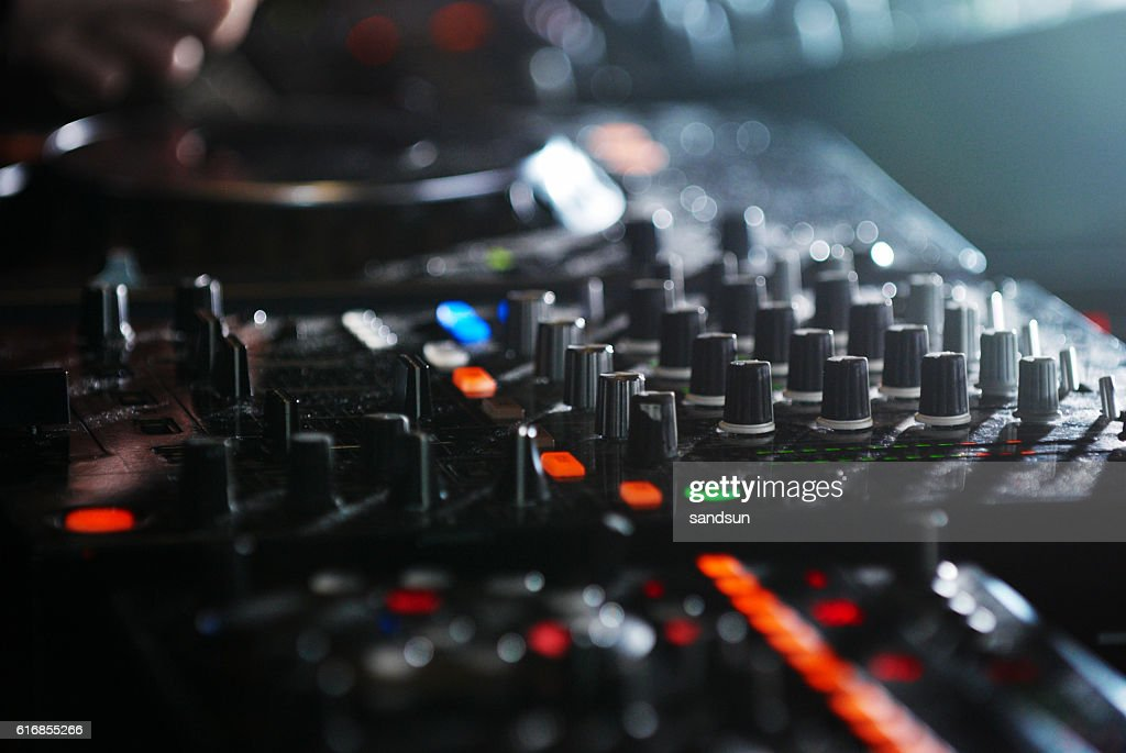 sound mixer : Stock Photo