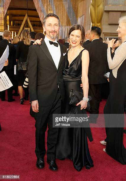 Sound mixer Stuart Wilson attends the 88th Annual Academy Awards at Hollywood Highland Center on February 28 2016 in Hollywood California