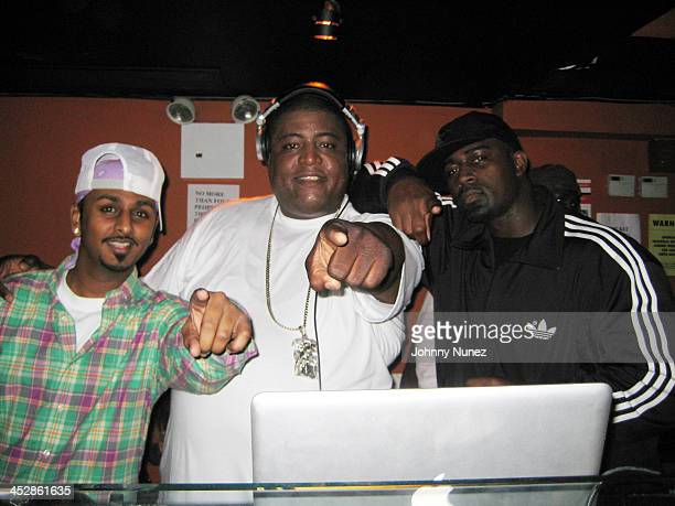 DJ Sound Proof DJ SNS and guest attend TK Kirkland's birthday party at Promenade on April 1 2009 in New York City