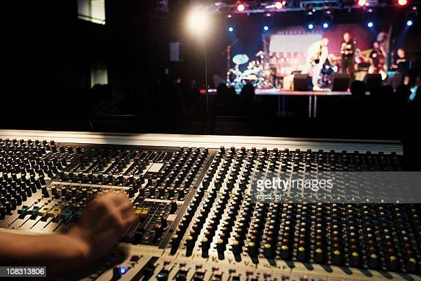 sound technician - recording studio stock pictures, royalty-free photos & images
