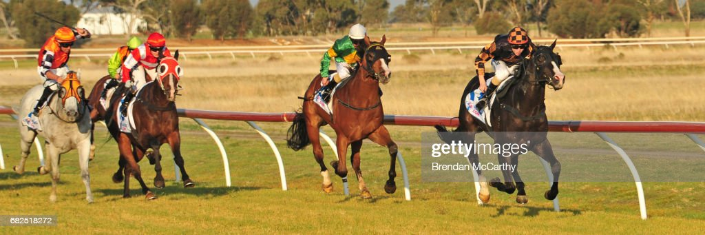 Sound the Trumpet ridden by Harry Coffey wins the Mackays
