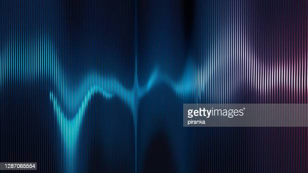 sound wave - noise stock pictures, royalty-free photos & images