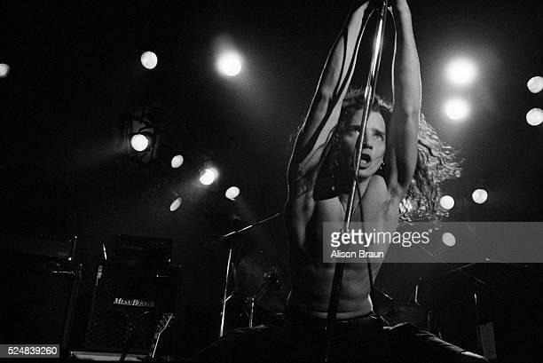 Soundgarden Frontman Chris Cornell on Stage