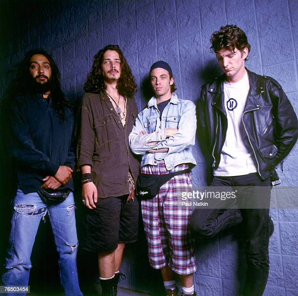 Soundgarden on 8/2/92 in Chicago Il