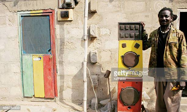 soundman - reggae stock photos and pictures