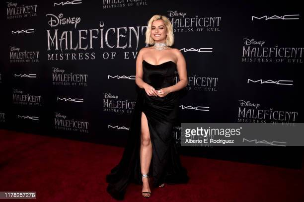 Soundtrack artist Bebe Rexha attends the World Premiere of Disney's Maleficent Mistress of Evil at the El Capitan Theatre on September 30 2019 in...