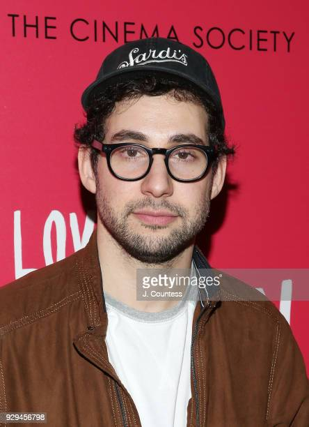 Soundtrack executive producer Jack Antonoff poses for a photo at the screening of 'Love Simon' hosted by 20th Century Fox Wingman at The Landmark at...