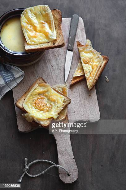 Soup and Cheese Toast