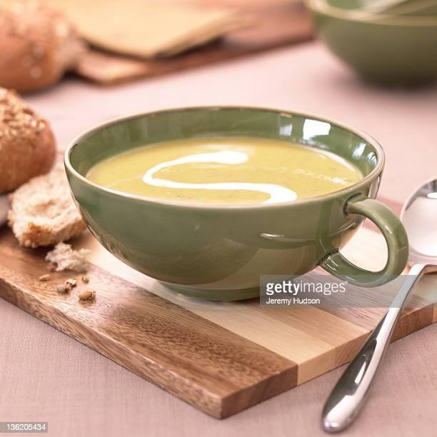 soup in a cup - sopa - fotografias e filmes do acervo